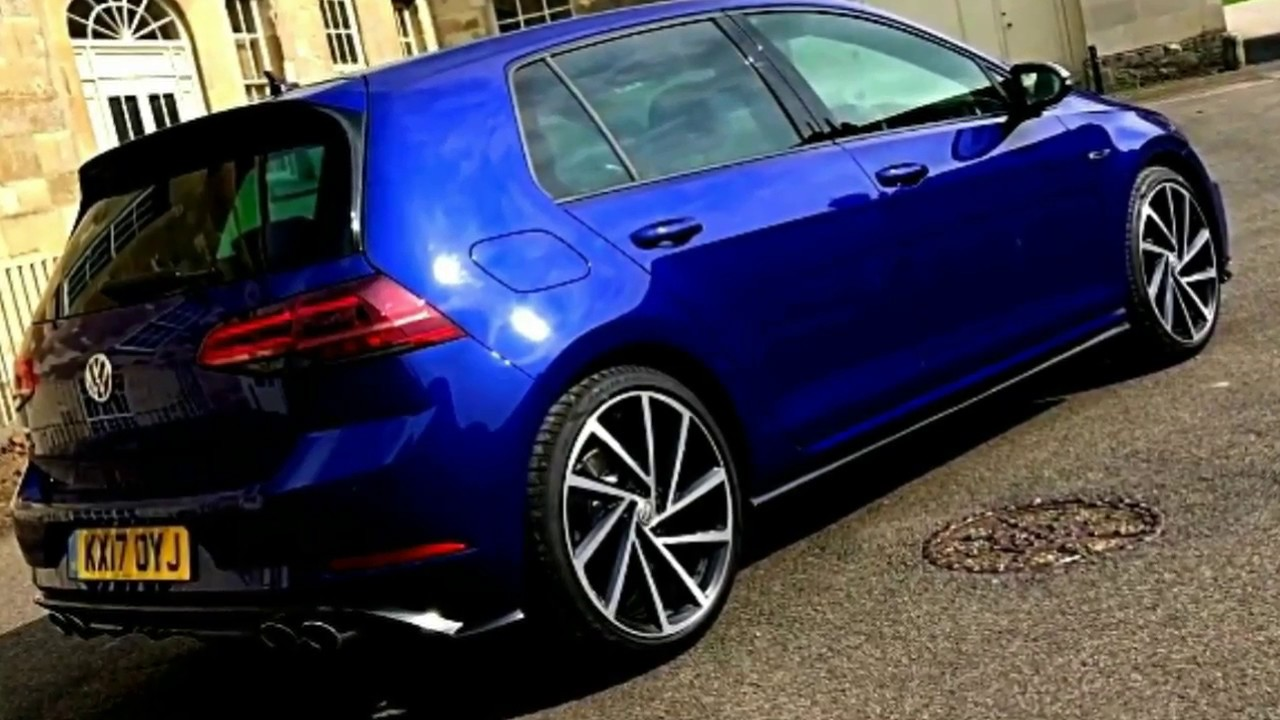 2018 volkswagen golf r 4motion exterior and interior youtube. Black Bedroom Furniture Sets. Home Design Ideas