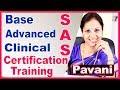 SAS Tutorials For Beginners | Complete SAS (Base, Advanced & Clinical SAS (CDISC,SDTM,ADaM))Training