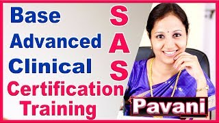 SAS Tutorials For Beginners | Complete SAS (Base, Advanced & Clinical SAS (CDISC,SDTM,ADaM))Training