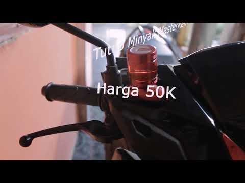 VARIASI tutup minyak master rem Vario 125 150