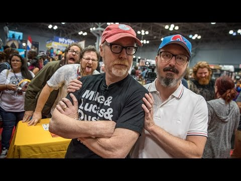 Adam Savage and John Hodgman Talk Comics and Film!