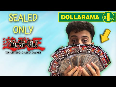 The Dollar Store SEALED-ONLY Yu-Gi-Oh! Challenge! ($1 Packs)