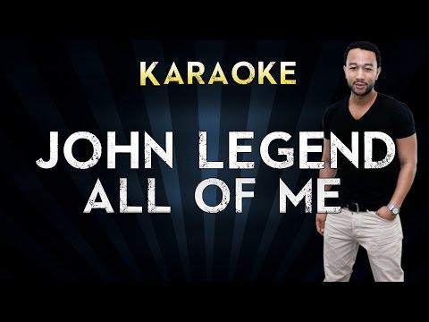 John Legend - All of Me | Official Karaoke Instrumental Lyrics Cover Sing Along