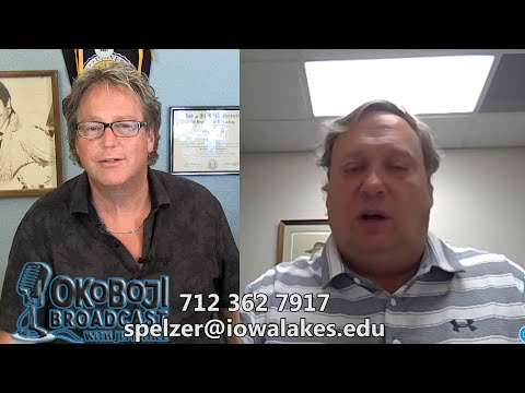 Okoboji Broadcast with Jeff Thee #81 Stephen Pelzer Iowa Lakes Community College