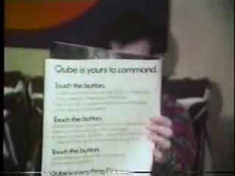 QUBE Demo Video  Columbus, OH  Feb., 1978 pt 1 of 6