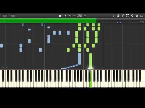千本桜 - Senbonzakura (Piano Version + Sheet) [Synthesia]