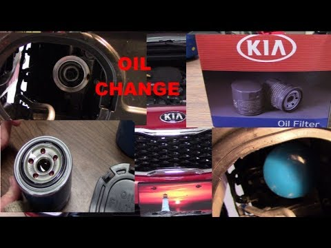 Changing OIL STEP BY STEP  Kia Forte