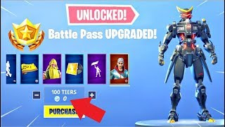 *GLITCH* How To Get MAX Tiers (Tier 100) In Fortnite Season 9 For FREE! - Max Battle Pass
