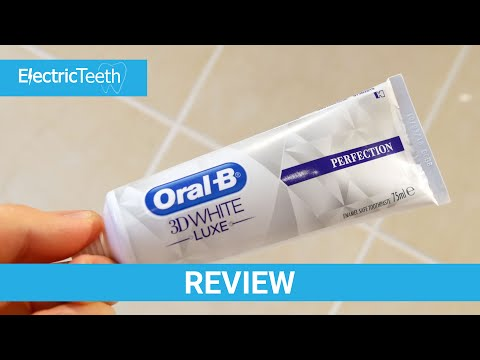 Oral-B 3D White Luxe Perfection Toothpaste Review - Electric