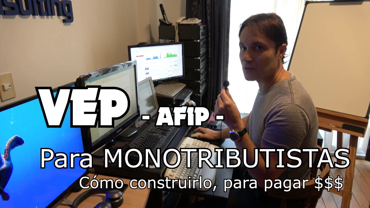 Download Tutorial para generar un VEP AFIP Monotributo - ¿Cómo generar un Volante Electrónico de Pago?