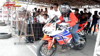EDAN..!! [ CBR600cc VS R6 600cc ] Motorsport Indonesia DRAG 201M