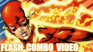 Injustice Gods Among Us - Flash Combo Video Gameplay