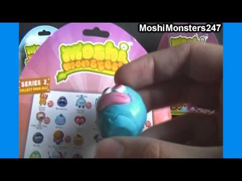 Unboxing a Moshi Monsters Moshlings Series 2 5 Figure Blister Pack