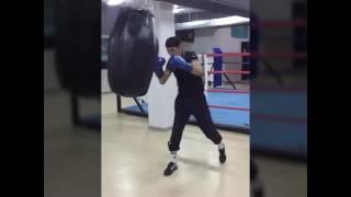 Работа на мешке | индивидуальные тренировки по боксу в Алматы