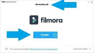 how to download filmora software in pc/laptopफिल्मोरा सॉफ्टवेयर कैसे डाउनलोड करें