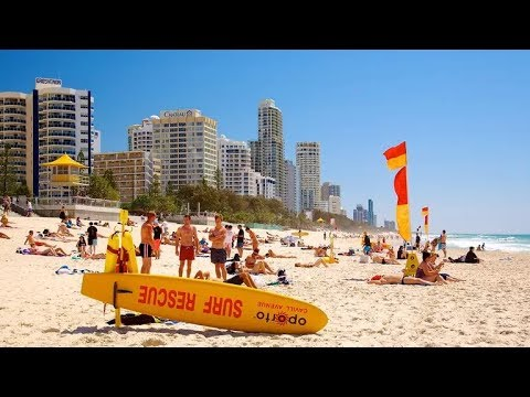 SURFERS PARADISE BEACH  - GOLD COAST AUSTRALIA 2017 Come Fly With Me