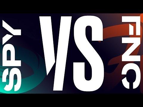 SPY vs. FNC - Week 9 Day 2 | LEC Spring Split | Splyce vs. Fnatic (2019)