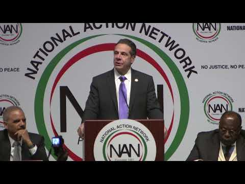 Governor Cuomo Delivers Remarks at National Action Network Conference
