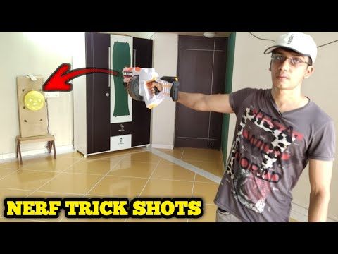 Nerf Trick Shots | B&H World | Dude Perfect Bro