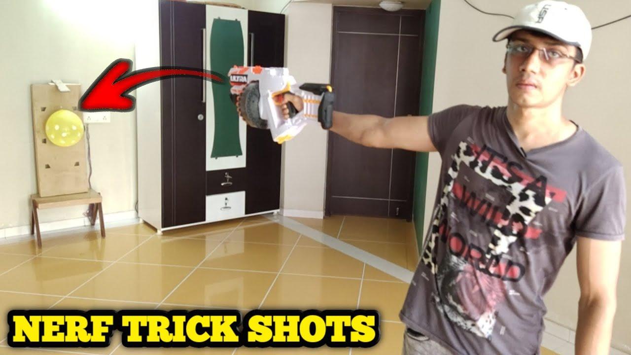 Nerf Trick Shots | B&H World | Dude Perfect Bro