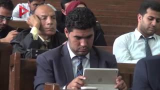 بالفيديو| دفاع أحمد دومة للقاضي: