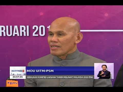 MOU ANTARA UNIVERSITI TEKNOLOGI MARA (UITM) DAN PERBADANAN STADIUM MALAYSIA (PSM) [20 FEB 2018]