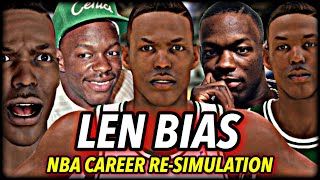 What If LEN BIAS Never Passed Away? I Reset The NBA To 1990 To Find Out | Dethroning Michael Jordan?