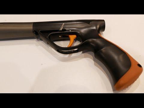 Крепление экш камеры на подводное ружье gopro xiaomi - YouTube