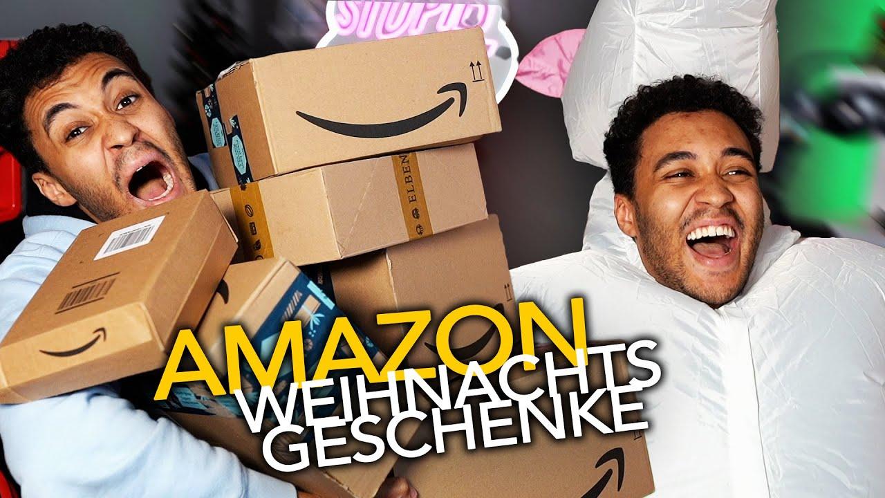Die DÜMMSTEN AMAZON Weihnachtsgeschenke testen! (2020)   Stream Highlights