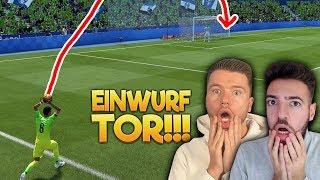 FIFA 20: EINWURF TOR DISCARD CHALLENGE 🔥🔥 PROOWNEZ vs WAKEZ