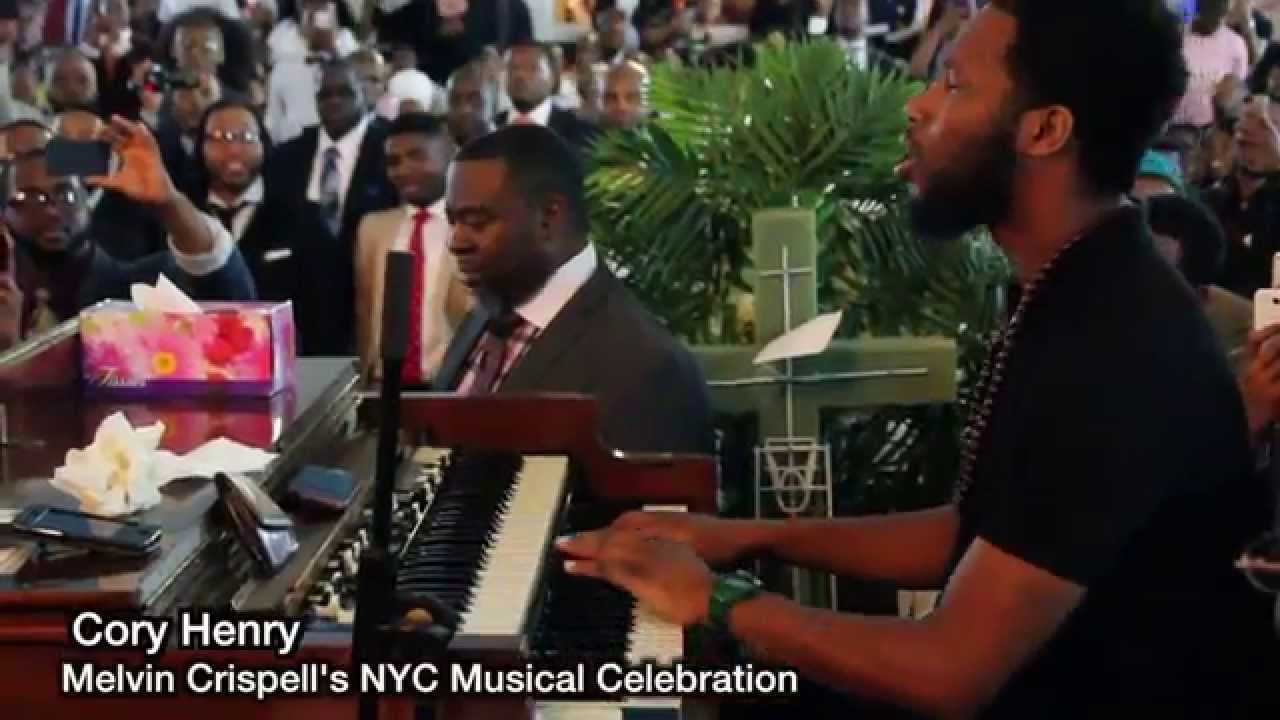 Cory Henry's solo Tribute to Melvin Crispell 'Wonderful is your name'