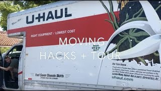 MOVING in HOUSE TOUR + Tips