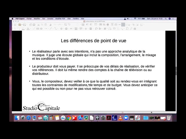 5   les differents points de vues