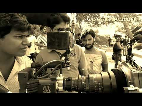Making Of Movie Gangster Dulhania Nidhi jha Glory mohanta Gaurav jha Sanjay pandey Bhojpuri movie