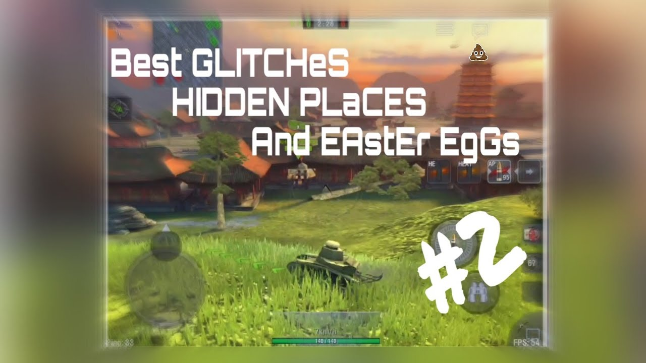 Download WoT Blitz // Best GLITCHES , HIDDEN PLACES and Easter Eggs #2