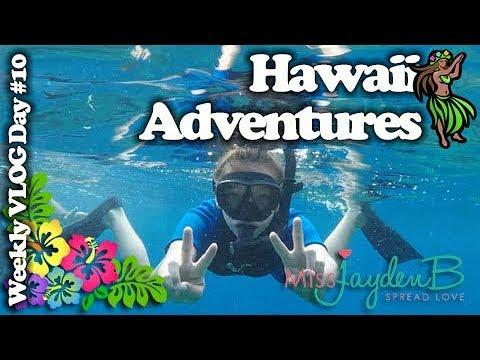 Hawaii Vacation Adventures!  Weekly Vlog Day 10