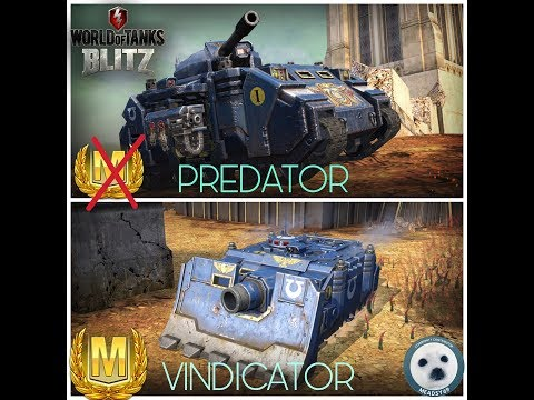 Wotb: Warhammer 40k event tanks. Predator / Vindicator Ft - Morior_Invictus