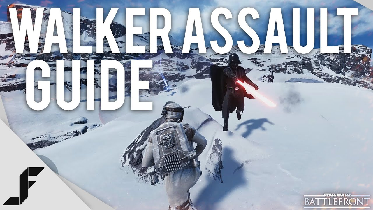 how to kill a walker in star wars battlefront