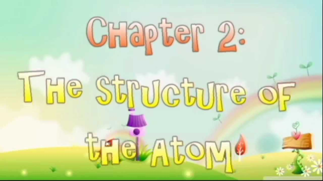 Chapter 2 The Structure Of The Atom Concept Map Youtube