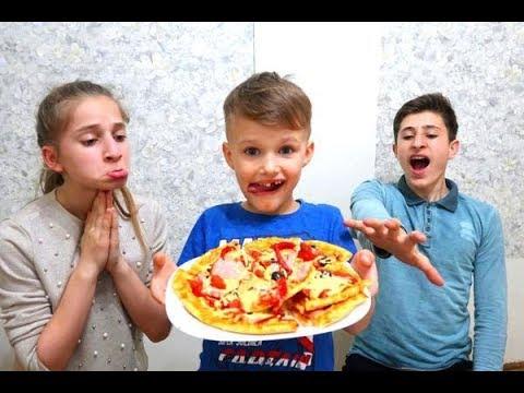 🍕ALBERT vrea să MĂNÂNCE tot! PIZZA CHALLENGE. Cine va FACE cea mai bună PIZZA?