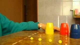 Видеоурок№1(Фокус 3 стаканчика)