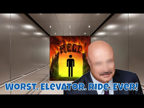 Weird Man Does A Weird Thing In An Elevator (Animation)
