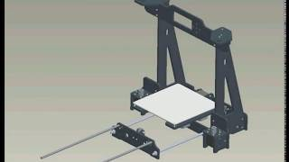 reprap prusa i3 tronxy p802m 3d printer diy assembly