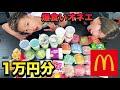 【大食い】マクドナルドで1万円食べきるまで帰れません!!!