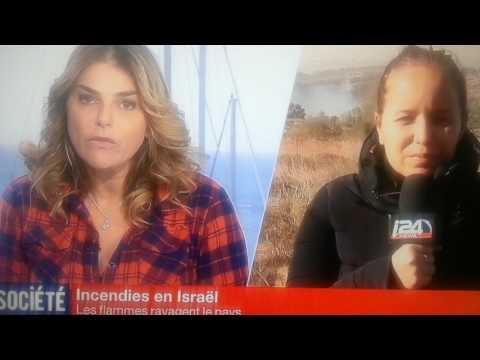 Haifa,Israel brule- t- il ? Les flammes ravagent les foyers juifs sionistes