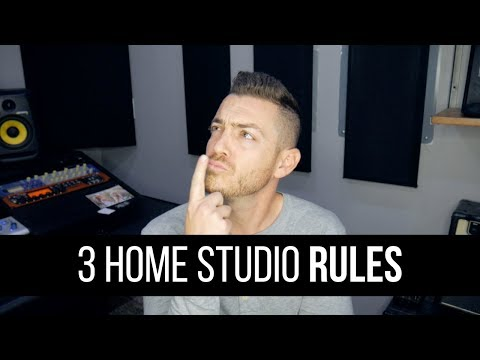 3 Home Studio Rules For 2019 – RecordingRevolution.com