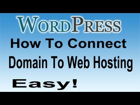 Get a Domain Name and Connect to Your Hosting | Connect Website to Web Hosting Account