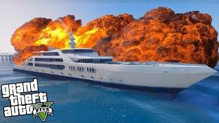 COME FARE ESPLODERE LO YACHT Su GTA 5! + GAMEPLAY ITA GTA 5 YACHT - xStarter GTA 5 ONLINE ITA Yacht