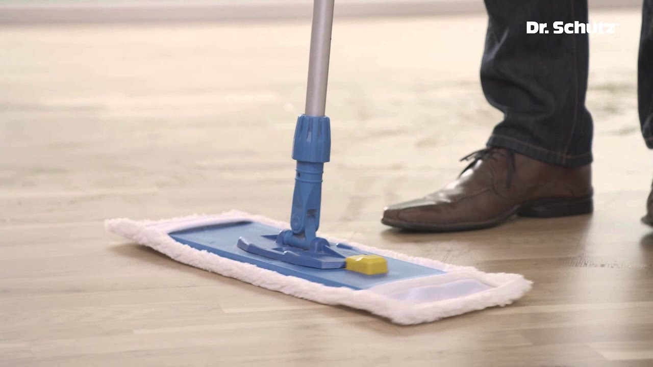 Intensive Wood And Cork Floor Cleaning With Dr Schutz Deep Clean