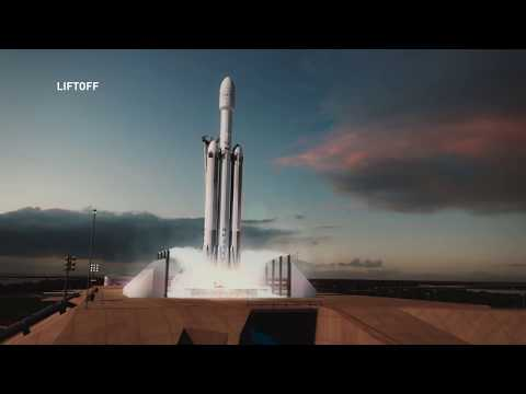 SpaceX's Falcon Heavy flies a complex mission for the Air Force in launch video